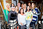 Joan Ahern from Ballyseedy standing front centre, celebrating her 50th birthday in Sean Ógs on Friday with her friends.<br /> L to r: Tess and Sandra Breen, Niamh Callaghan, Clover Wharton, Dan Horan, Kay Hurley Breen, Caroline Rogers, Mary Murphy, Edel Kelly and Deirdre Murphy.