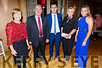 Angela, Mike and Conor Cremin, Ann and Leah Boyle enjoying the Scartaglin LGFA 30th Anniversary social in the Ballygarry House Hotel on Saturday.
