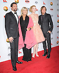 Hugh Jackman,Deborra-Lee Furness,Nicole Kidman Urban and Keith Urban at The G'Day USA Black Tie Gala held at The JW Marriot at LA Live in Los Angeles, California on January 12,2013                                                                   Copyright 2013 Hollywood Press Agency