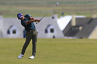 Yusaku Miyazato (JPN) plays his 2nd shot on the 6th hole during Thursday's Round 1 of the Dubai Duty Free Irish Open 2019, held at Lahinch Golf Club, Lahinch, Ireland. 4th July 2019.<br /> Picture: Eoin Clarke | Golffile<br /> <br /> <br /> All photos usage must carry mandatory copyright credit (© Golffile | Eoin Clarke)