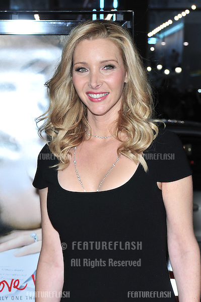 """Lisa Kudrow at the world premiere of her new movie """"P.S. I Love You"""" at Grauman's Chinese Theatre, Hollywood..December 9, 2007  Los Angeles, CA.Picture: Paul Smith / Featureflash"""