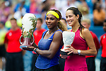 Serena Williams (USA) wins her first Western & Southern Open after defeating Ana Ivanovic (SRB) by 64 61 in Mason, OH on August 17, 2014.