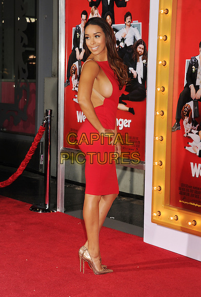 HOLLYWOOD, CA - JANUARY 06: TV personality Gloria Govan attends the world premiere of 'The Wedding Ringer' at TCL Chinese Theatre on January 6, 2015 in Hollywood, California.<br /> CAP/ROT/TM<br /> &copy;TM/ROT/Capital Pictures