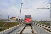 - Treviglio (Brescia), viaggio di prova sulla nuova linea Alta Velocit&agrave;/Alta Capacit&agrave; Treviglio-Brescia, parte integrante del Corridoio Europeo TENT-T <br /> <br /> - Treviglio (Brescia), test ride on the new line High Speed / High Capacity Treviglio-Brescia, an integral part of the European Corridor TENT-T