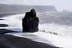 Vik Black Beach Iceland