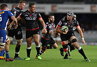 DURBAN, SOUTH AFRICA - MAY 27: Stephan Lewies of the Cell C Sharks during the Super Rugby match between Cell C Sharks and DHL Stormers at Growthpoint Kings Park on May 27, 2017 in Durban, South Africa. Photo by Steve Haag / stevehaagsports.com