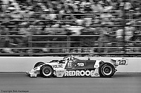 Bobby Rahal drives in the 1982 Indianapolis 500.