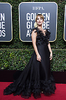 Lily James arrives at the 75th Annual Golden Globe Awards at the Beverly Hilton in Beverly Hills, CA on Sunday, January 7, 2018.<br /> *Editorial Use Only*<br /> CAP/PLF/HFPA<br /> &copy;HFPA/PLF/Capital Pictures