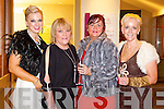 Pictured at Kerry Fashion Weekend awards held in the Carlton hotel, Tralee on Saturday evening, were l-r: Orlaith Winters (Tralee) Tess Wren (Castleisland) Margaret Brick (Tralee) and Jill Hannon (Castleisland).