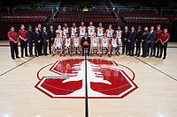 Stanford Basketball M Portraits and Team Photo, October 16, 2017