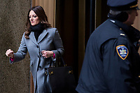 NEW YORK, NEW YORK - JANUARY 6: Harvey Weinstein's lawyer Donna Rotunno leaves the Manhattan courthouse. On January 6, 2020 in New York City. Weinstein pleaded not guilty to five counts of rape and faces a possible life sentence in prison.(Photo by Pablo Monsalve / VIEWpress)