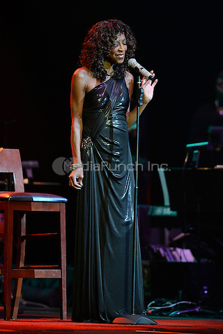 HOLLYWOOD FL - NOVEMBER 5 : Natalie Cole performs at Hard Rock Live  at the Seminole Hard Rock Hotel & Casino on November 5, 2014 in Hollywood, Florida. Credit:  mpi04/ MediaPunch