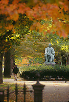 Commonwealth Avenue, Garrison statue, Boston, MA