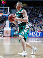 Zalgiris Kaunas' Rimantas Kaukenas during Euroleague 2012/2013 match.January 11,2013. (ALTERPHOTOS/Acero) /NortePhoto