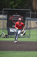 TEMPORARY UNEDITED FILE:  Image may appear lighter/darker than final edit - all images cropped to best fit print size.  <br /> <br /> Under Armour All-American Game presented by Baseball Factory on July 19, 2018 at Les Miller Field at Curtis Granderson Stadium in Chicago, Illinois.  (Mike Janes/Four Seam Images) Bobby Witt Jr. is a shortstop from Colleyville Heritage High School in Colleyville, Texas committed to Oklahoma.