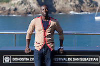 Actor Omar Sy presents the film: 'Samba' during the 62st San Sebastian Film Festival in San Sebastian, Spain. September 27, 2014. (ALTERPHOTOS/Caro Marin) /NortePHOTO.com /nortephoto.com