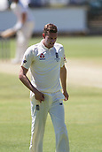 November 5th 2017, WACA Ground, Perth Australia; International cricket tour, Western Australia versus England, day 2; England player Jake Ball walks back to start his bowling run up