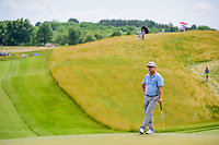 Charley Hoffman (USA) waits to putt on 8 during Friday's round 2 of the 117th U.S. Open, at Erin Hills, Erin, Wisconsin. 6/16/2017.<br /> Picture: Golffile | Ken Murray<br /> <br /> <br /> All photo usage must carry mandatory copyright credit (&copy; Golffile | Ken Murray)