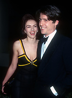Elisabeth Hurley, Hugh Grant, 1994, Photo By Michael Ferguson/PHOTOlink