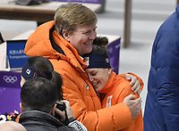 King Willem at the Olympics 021218