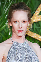 Suzanne Wuest at the British Fashion Awards 2017 at the Royal Albert Hall, London, UK. <br /> 04 December  2017<br /> Picture: Steve Vas/Featureflash/SilverHub 0208 004 5359 sales@silverhubmedia.com