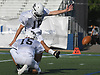 CJ Carrick #16 of New Hyde Park splits the uprights with help from holder Tyler DeMeo #15 of Carey during team practice at Hofstra University on on Tuesday, June 20, 2017. The best seniors from Long Island will battle their New York City counterparts in the 22nd annual Empire Challenge on Wednesday, June 21 at Shuart Stadium.