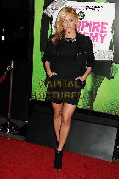 4 February 2014 - Los Angeles, California - Cassie Scerbo. &quot;Vampire Academy&quot; Los Angeles Premiere held at Regal Cinemas L.A. Live. <br /> CAP/ADM/BP<br /> &copy;Byron Purvis/AdMedia/Capital Pictures