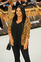 LONDON, ENGLAND - SEPTEMBER 12: Scarlett Moffatt attending the World Premiere of 'King Of Thieves' at Vue West End, Leicester Square on September 12, 2018 in London, England.<br /> CAP/MAR<br /> &copy;MAR/Capital Pictures