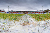 General view of the Lamex stadium, home of Stevenage Football Club, ahead of the Sky Bet League 2 match between Stevenage and Northampton Town at the Lamex Stadium, Stevenage, England on 19 March 2016. Photo by David Horn / PRiME Media Images.