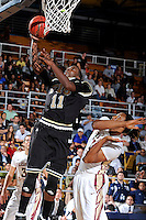 18 November 2010:  FIU's Marvin Roberts (11) shoots in the second half as the Florida State University Seminoles defeated the FIU Golden Panthers, 89-66, at the U.S. Century Bank Arena in Miami, Florida.