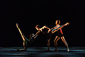 """Ivan Putrov presents """"Against the Stream"""", a mixed bill of ballet, at the London Coliseum.  The piece shown is: """"Images of Love"""". choreographed by Sir Kenneth MacMillan. The dancers are: Mathew Ball, Mayara Magri and Ivan Putrov."""