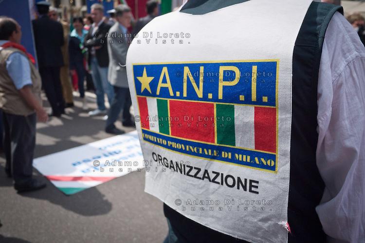 ANPI People during 25 April demonstration italian liberation of Nazi Fascism World War II thanks by partigiani, on April 25, 2014. Photo: Adamo Di Loreto/BuenaVista*photo