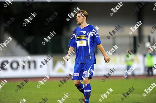 2013-09-15 / Voetbal / seizoen 2013-2014 / KV Turnhout / Artjom Dmitrijev<br /><br />Foto: Mpics.be