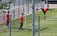 21st April 2020; Stuttgart, Germany  VfB Stuttgart Training:  Sasa Kalajdzic Training during the covid-19 pandemic