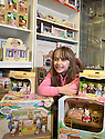 30/04/16<br /> <br /> Freya Kirkpatrick.<br /> <br /> THERE&rsquo;S a new toy shop in town and it&rsquo;s all thanks to an eight-year-old Clifton schoolgirl.<br /> MacLeods of Ashbourne, in Middle Cale just off St John Street, was officially opened by Freya Kirkpatrick on Saturday morning.<br /> Owner Barry Smith said he asked Freya to open the store as she was the one who convinced him that Ashbourne really needed a toy shop, after Lumbards in Victoria Square shut its doors last year.<br /> He said: &ldquo;I met Freya in the Smiths Tavern, when she was there with her mum, Jo Roberts, and dad, Rod Kirkpatrick.<br /> &ldquo;She started chatting to me about how sad she was that the only toy shop in town had closed because she had nowhere to buy her favourite Sylvanian Families characters.<br /> &ldquo;I mentioned that I was thinking of opening a new store in town, and by the end of our conversation she had totally convinced me to go for it and set up the toy shop.&rdquo;<br /> The 42-year-old had been looking for a new career after a serious accident ended his long-distance driving job.<br /> Barry, who lives in Ashbourne, has always had a passion for tanks, after spending four years as a trooper in the Royal Tank Regiment, and he said he enjoyed making model tanks in his spare time.<br /> &ldquo;I&rsquo;ve always been fascinated by tanks, I used to play with them endlessly as a child and as soon as I was 16 I joined the army to learn how to drive them.<br /> &ldquo;So it seemed a logical move to open a shop which combined my love of tanks with something Ashbourne desperately needed, so half the store stocks hobby models including tanks, trains and aeroplanes and the other half has traditional kids toys,&rdquo; he said.<br /> Brands sold include Sylvanian Families, Schleich animals, Siku cars and a variety of other games and toys, suitable for all ages.<br /> And Freya definitely approves. <br /> &ldquo;I&rsquo;m really happy now,&rdquo; she said.<br /> &ldquo;I was a bit nervous about cutting the ribbon, excited and nervous at the same time, but I didn't want to miss the opportunity of a lifetime to do it.<br /> &ldquo;And now I ha