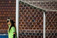 Sao Paulo, 28.08.2019 - CHILE X COSTA RICA - Noelia Bermudez durante partida entre Chile e Costa Rica, no estádio do Pacaembu, em São Paulo, pelo Torneio Uber Internacional de Futebol Feminino de Seleçoes.  (Foto: Carla Carniel/Código19)
