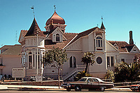 San Diego: Villa Montezuma, 1887. (Jesse Shepard House) 20th &amp; K St., Queen Anne/Victorian style.<br />