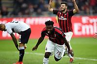 esultanza gol Frank Kessie Goal celebration <br /> Milano 2-12-2018 Stadio San Siro Football Calcio Serie A 2018/2019 AC Milan - Parma Foto Image Sport / Insidefoto
