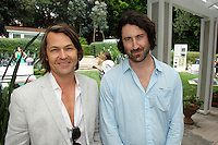 Nero Smeraldo, JB Bogulski==<br /> LAXART 5th Annual Garden Party Presented by Tory Burch==<br /> Private Residence, Beverly Hills, CA==<br /> August 3, 2014==<br /> ©LAXART==<br /> Photo: DAVID CROTTY/Laxart.com==