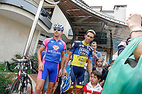 Alberto Contador with the fans during the rest day of La Vuelta 2012.August 27,2012. (ALTERPHOTOS/Paola Otero) /NortePhoto.com<br />