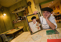 "Europe/France/Aquitaine/64/Pyrénées-Atlantiques/Bayonne: Alain  Darroze Restaurant "" La Garburada Rose"""