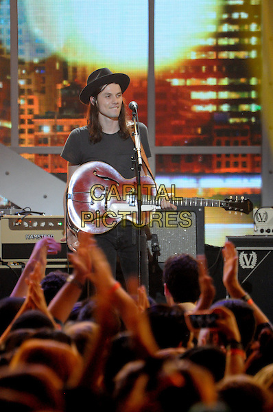 NEW YORK, NY - NOVEMBER 12: James Bay at the VH1 Big Music In 2015:  You Oughta Know Show at The Armory Foundation in New York City on November 12, 2015. <br /> CAP/MPI<br /> &copy;MPI/Capital Pictures