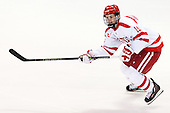 Robbie Baillargeon (BU - 19) - The Boston University Terriers defeated the visiting University of Connecticut Huskies 4-2 (EN) on Saturday, October 24, 2015, at Agganis Arena in Boston, Massachusetts.