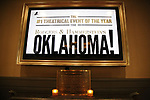 """Barberry Room Rodgers & Hammerstein plaqe the Rodgers & Hammerstein's """"Oklahoma!"""" Cocktail Party at Bob's Steak & Chop House on February 19, 2019 in New York City."""