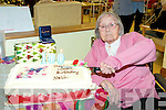100th Birthday Celebrations : Eileen Allen, third from fight seated, Doonard, Tarbert, celebrating her 100th birthday with family & friends at Oakland's Nursing Home, Derry, Listowel on Tuesday 28th December.