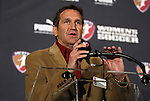 15 January 2010: Notre Dame head coach and NSCAA president Randy Waldrum. The 2010 WPS Draft was held at Pennsylvania Convention Center in Philadelphia, PA during the NSCAA Annual Convention.
