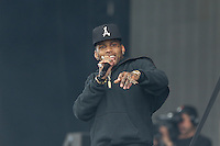 KID INK (Brian Todd Collins) performs during The New Look Wireless Music Festival at Finsbury Park, London, England on Friday 28 June 2015. Photo by Andy Rowland.