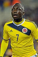 Pablo Armero of Colombia    <br /> Bruxelles 14-11-2013 <br /> Football Calcio 2013/2014 Friendly Match. Belgio - Colombia <br /> Foto PHOTO NEWS / PANORAMIC / Insidefoto