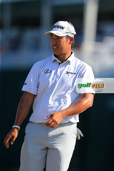 Hideki Matsuyama (JAP) during round 3 of the Players, TPC Sawgrass, Championship Way, Ponte Vedra Beach, FL 32082, USA. 14/05/2016.<br /> Picture: Golffile | Fran Caffrey<br /> <br /> <br /> All photo usage must carry mandatory copyright credit (&copy; Golffile | Fran Caffrey)