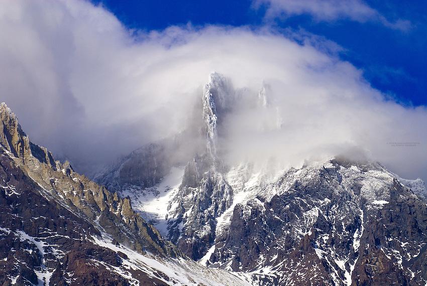 Bariloche Peak, Paine Grande Mountain, Torres del Paine National Park, Patagonia, Chile